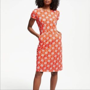 Boden cotton dress with pockets